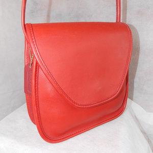 Coach Vintage Lindsay Bag 9888Brass RED Never Used